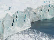 Arctic Ocean - glacier and ice Stock Photography