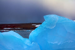 Arctic pure ice blue Stock Photography