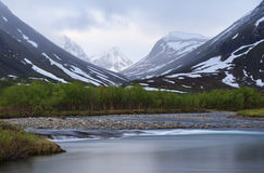 Arctic river Stock Image