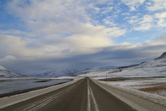 Arctic road Stock Photography