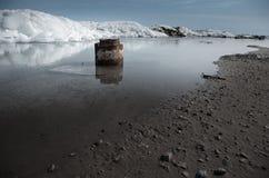 Arctic scene Royalty Free Stock Photography