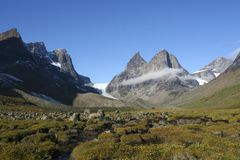 Arctic scenery Stock Images
