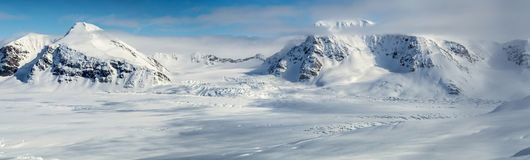 Arctic spring in south Spitsbergen Royalty Free Stock Images