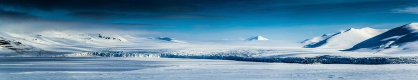 Arctic spring in south Spitsbergen Royalty Free Stock Image