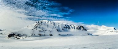 Arctic spring in south Spitsbergen Royalty Free Stock Photo