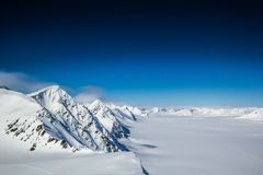 Arctic spring in south Spitsbergen Stock Images