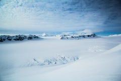 Arctic spring in south Spitsbergen. Hornsund Fjord royalty free stock photos