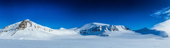 Arctic spring in south Spitsbergen. Stock Photography