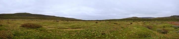Arctic tundra landscape Stock Photo