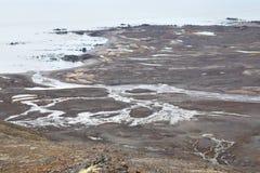 Arctic tundra - Spitsbergen Stock Photo