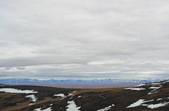 Arctic. View of the hills  of Chukotka. Royalty Free Stock Photos