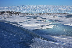 Arctic Wilderness in Greenland. Arctic tundra wilderness near Ilimanaq in west Greenland Royalty Free Stock Photography