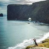 Arctica de Fratercula - oiseaux de mer de l'ordre du Charadriiformes Photo libre de droits