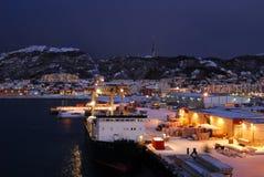 arcticnight Νορβηγία Στοκ φωτογραφία με δικαίωμα ελεύθερης χρήσης