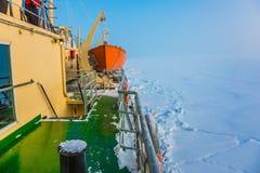 Arctique en hiver images stock