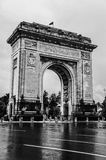 Arcul de Triumf in Bucharest, Romania Royalty Free Stock Images