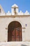 Arcybiskupi pałac. Manfredonia. Puglia. Włochy. obrazy stock