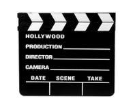 Ardósia 2 do filme - trajeto de grampeamento Imagens de Stock