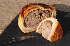 Ardósia cortada pâté de porco 3 Foto de Stock