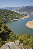 Arda River and Rhodopes mountain,  Bulgaria Royalty Free Stock Images