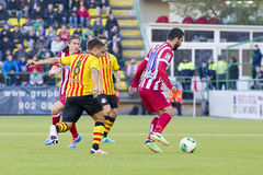 Arda Turan in action Royalty Free Stock Photo