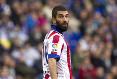 Arda Turan of Atletico Madrid Stock Photos