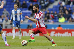 Arda Turan of Atletico Madrid Royalty Free Stock Photos