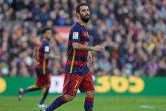 Arda Turan av FCet Barcelona Royaltyfria Foton