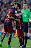 Arda Turan av FCet Barcelona Arkivfoto