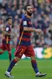 Arda Turan av FCet Barcelona Royaltyfri Bild