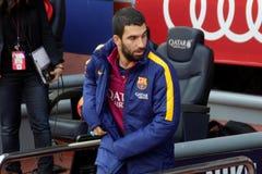 Arda Turan av FCet Barcelona Royaltyfri Fotografi