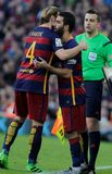 Arda Turan del FC Barcelona Foto de archivo