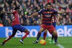 Arda Turan del FC Barcelona Imagen de archivo libre de regalías