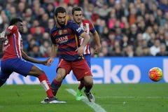 Arda Turan FC Βαρκελώνη Στοκ Φωτογραφίες