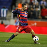 Arda Turan of FC Barcelona Royalty Free Stock Image