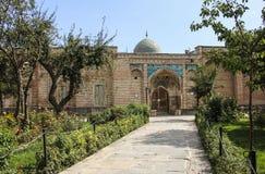ARDABIL, IRAN 26 SETTEMBRE 2018: Tomba di Sheikh Safi al-Din, Ardabil, Iran del Nord fotografie stock libere da diritti