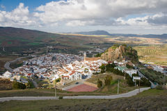 Ardales. Cityscape  in Malaga, Spain Stock Photography
