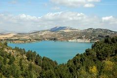 ardales guadalhorce λίμνη κοντά στην Ισπανία Στοκ φωτογραφίες με δικαίωμα ελεύθερης χρήσης