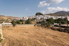 Ardales: tipical ανδαλουσιακό χωριό (blanco pueblo) Στοκ εικόνες με δικαίωμα ελεύθερης χρήσης