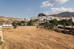 Ardales: tipical andalusian village (pueblo blanco) Royalty Free Stock Images