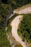 ardeche ποταμός της Γαλλίας Στοκ Εικόνα