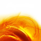 Ardent background. Abstract template with peachy fractal stock illustration