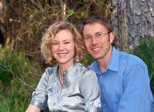 Ardent et dans l'amour Photo stock