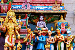The ardent followers of Lord Shiva Royalty Free Stock Image