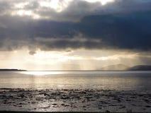 Ardersier, montagnes écossaises Image libre de droits