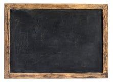 Ardesia d'annata della scuola o della lavagna Fotografia Stock