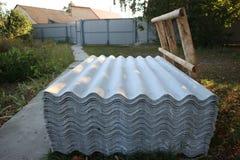 Ardesia per la copertura dei tetti Fotografia Stock Libera da Diritti