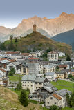 Ardez瑞士 免版税库存照片