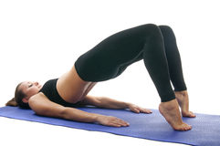 Ardha chakrasana Royalty Free Stock Images