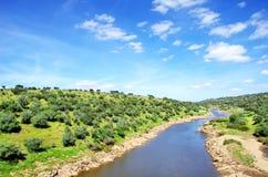 Ardila river , Portugal Stock Photo